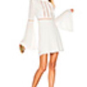 For Love & Lemons - Willow Bell Sleeve Dress NWT